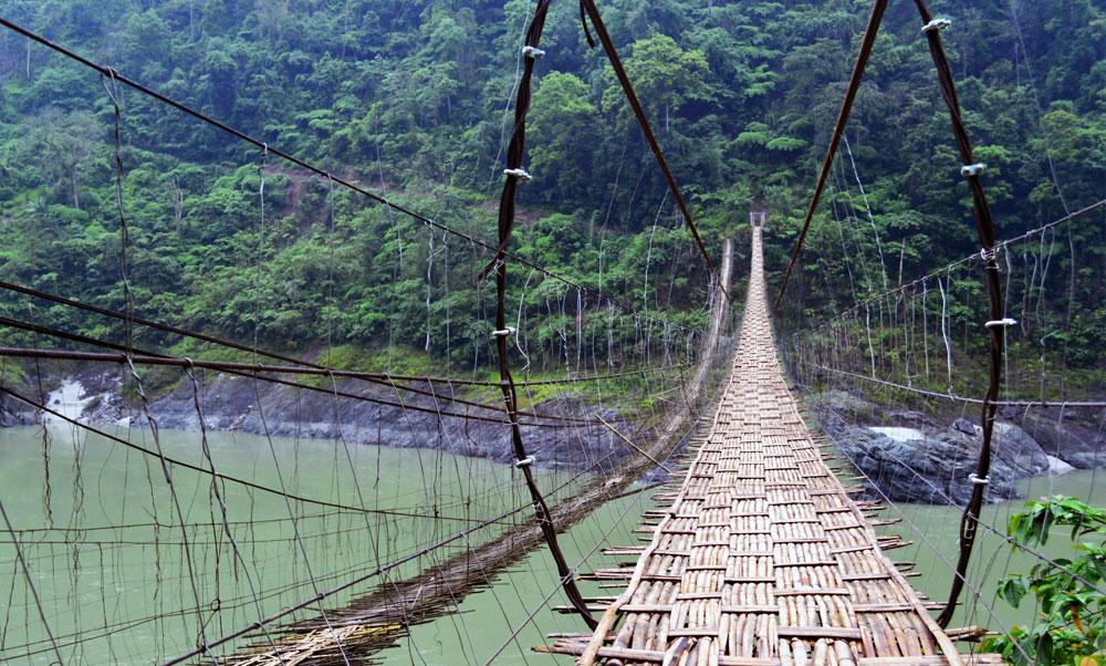 Pasighat hanging bridge