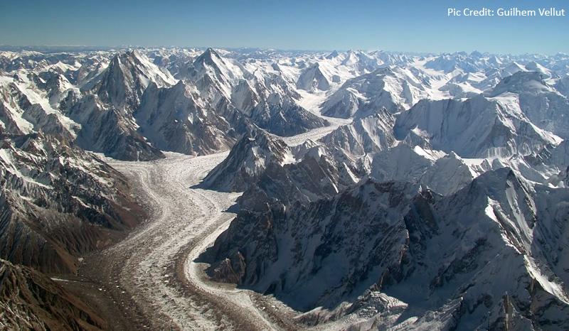 East Karakorma Range