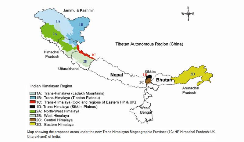 Trans-Himalayan Biogeographic Province