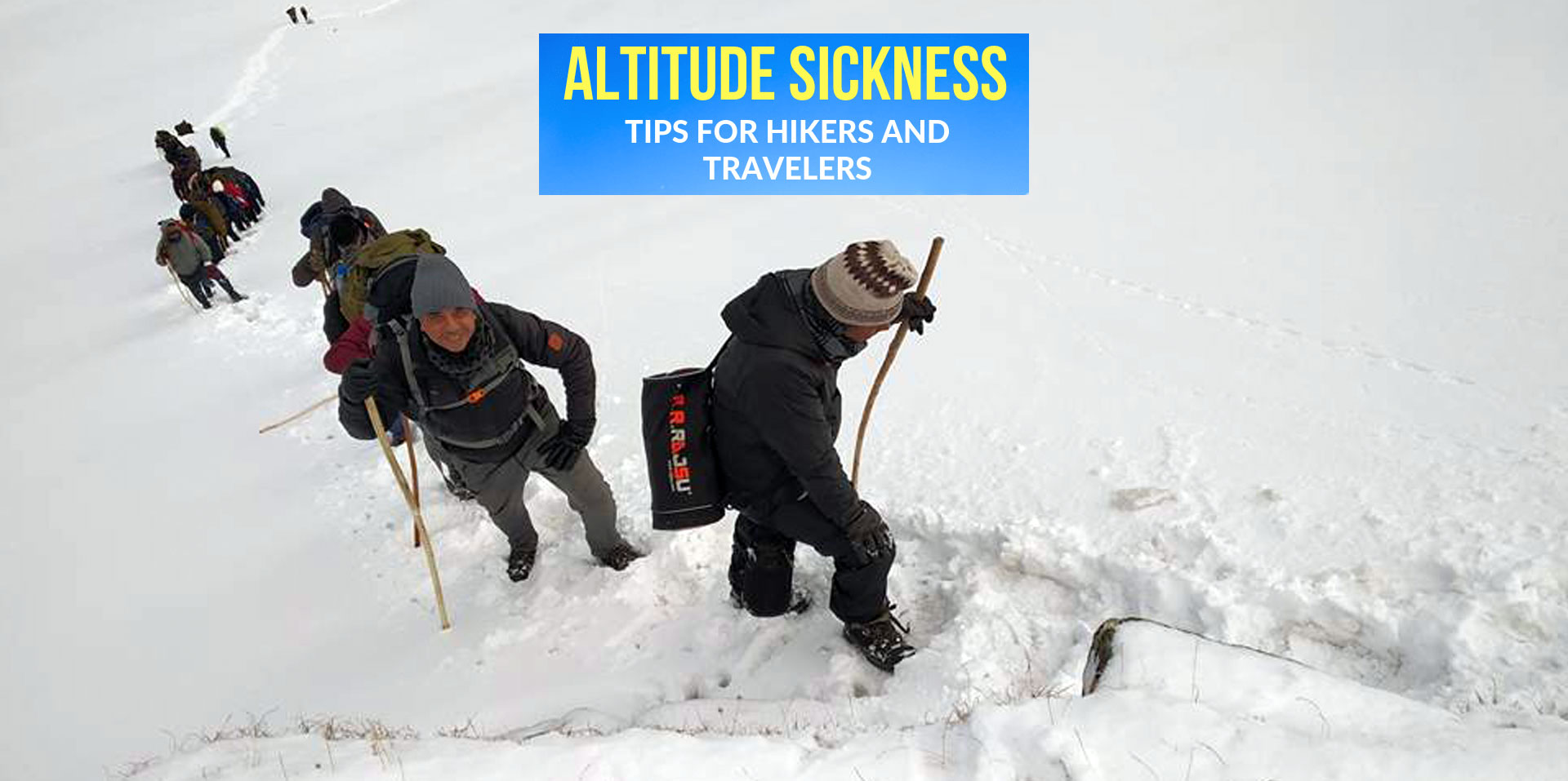 How to Cater Altitude Sickness